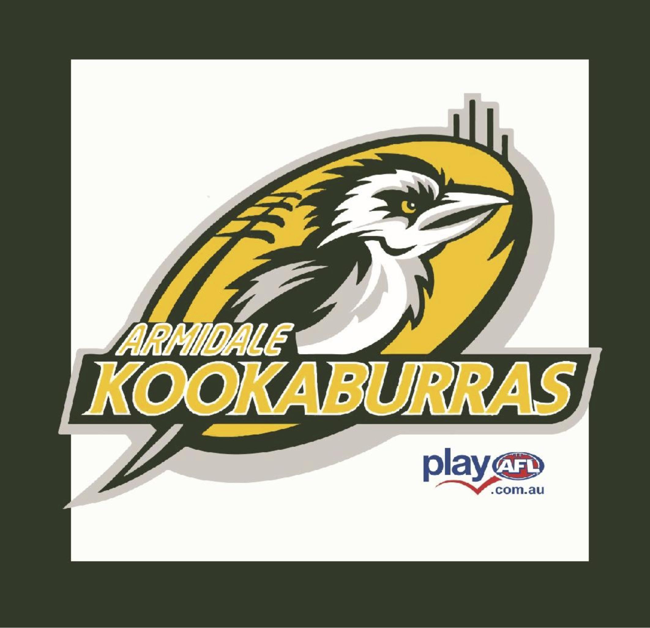 Auskick Armidale Kookaburras logo