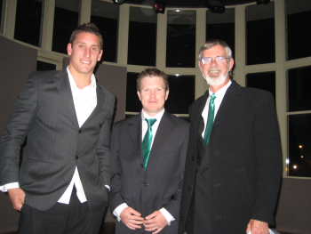 Brendan Nolan, Ben Page and the Sydney Swans' Jesse White