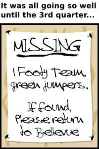 Missing: 1 footy team cartoon