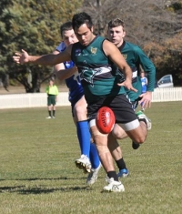Weston Whitby, winner of the 2012 Best and Fairest and Players' Player awards