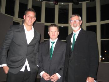 Brendan Nolan, Ben Page and the Sydney Swans' Jesse White