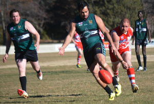 Nomads skipper WestonWhitby booted another five goals for his side against Inverell.