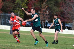 Matt Foley was one of the Nomads' best in their narrow loss to Inverell on Saturday.
